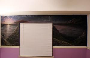 Seascape mural